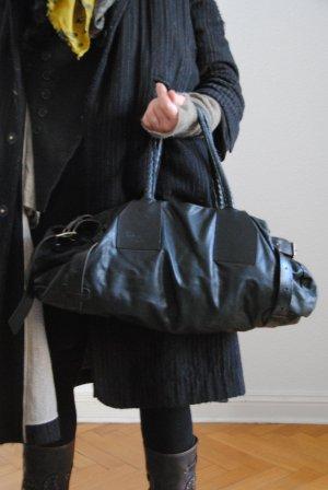 Sac porté épaule noir cuir