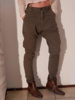 Designer Harem Slouch Relaxed Boyfriend Pants BASSIKE Blogger Style Hose