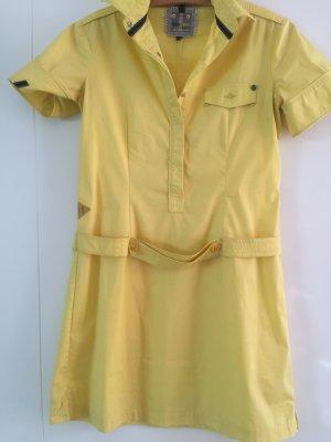 Designer Hemdkleid in Gelb