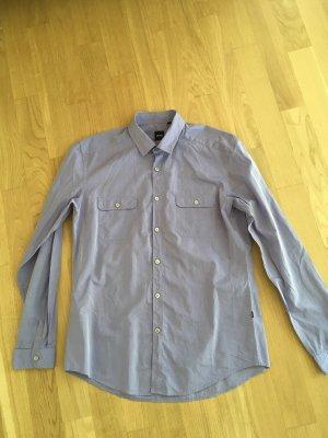 Hugo Boss Camisa de manga larga lila