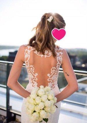 Signature Robe de mariée multicolore polyester