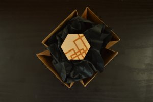 Designer Holz Ring