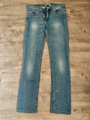 Acne Boot Cut Jeans azure
