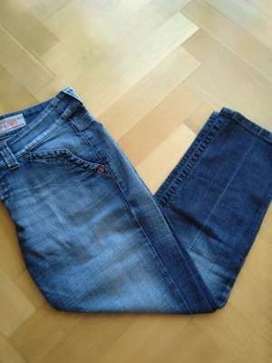Designer Jeans Daugthers of Eve Gr. 31 7/8 Länge tolle Waschung 89% Baumwolle