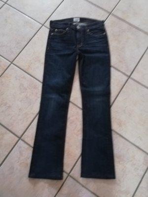Hudson Boot Cut Jeans dark blue