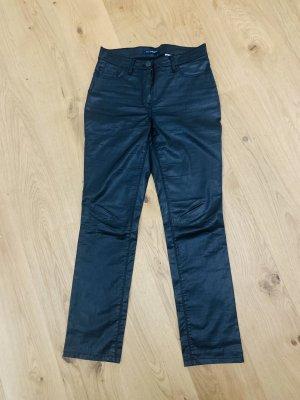 Atelier Gardeur Straight Leg Jeans black cotton