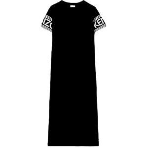 *  Designer  Jersey  Kleid  mit  Print  *  Gr. L-XL  *