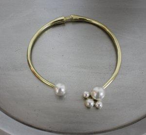 Designer Kenneth Jay Lane Halskette mit Perlen Perlenkette