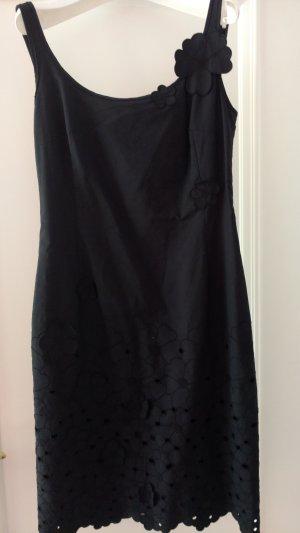 Designer Kleid Akris Punto schwarz Gr 36