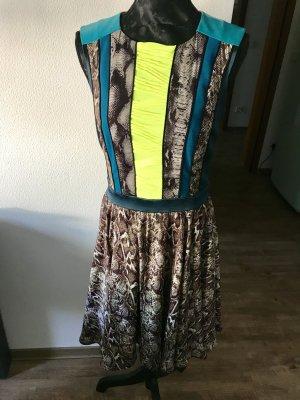 Designer Kleid Animalprint