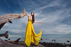 Designer Kleid - Größe 36