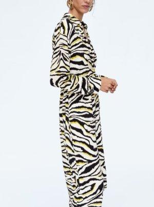 Designer Kleid ital Boutique Animal Print 36 viskose nie getragen