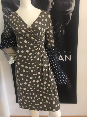 Designer Kleid London Soho Boutique Kult dots Blogger Steppjacke wie colmar small