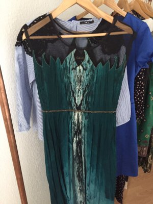 Anthropologie Maxi abito blu