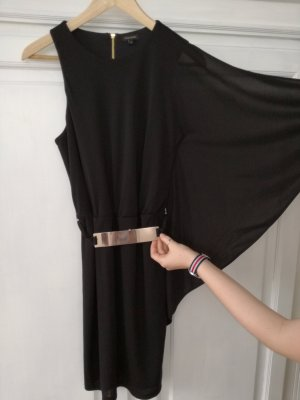 Designer Kleid, River Island, schwarz, Gr. 38