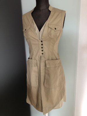 Designer Kleid Safari Look Gr 36 S von Hoss Neu
