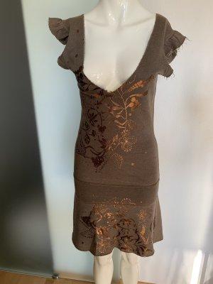 Designer Kleid Sweatshirt Überzieher Gr 34 36 XS von Freesolic