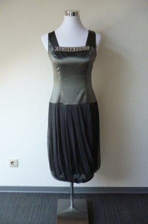 Cocktail Dress dark grey material label was removed