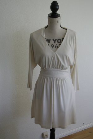 Guess Vestido blanco-crema