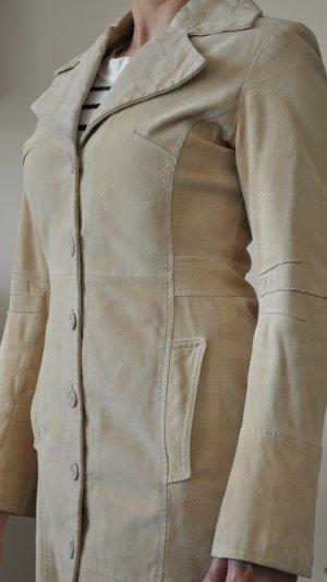 Designer Ledermantel Porcvelours Gr. S VERO MODA