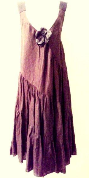 Aspesi Dress brown linen