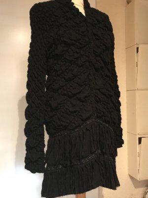 Liu jo Manteau en tricot noir tissu mixte