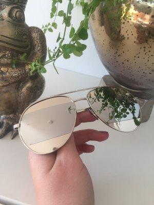 Zonnebril zilver
