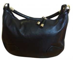 Bally Pouch Bag black leather