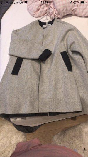 Cappotto taglie forti grigio chiaro