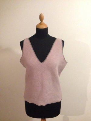 Designer Marke unknown hochwertic Fleece Pullover oversize flieder pastell