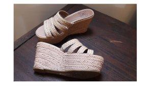 Designer Marken hochwertige Schuhe Plateau Sandalen Lucky Brand USA Größe 8,5 USA und Größe 39,5 DE