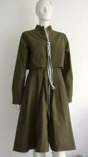 Designer Parka My Star Green Khaki Size M New