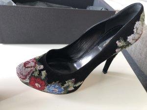 Dolce & Gabbana Plateauzool pumps zwart