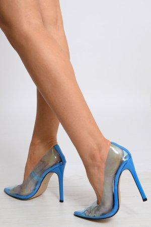 Décolleté blu neon-blu
