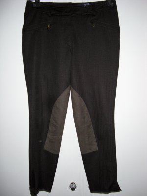 Orwell Riding Trousers dark brown polyester