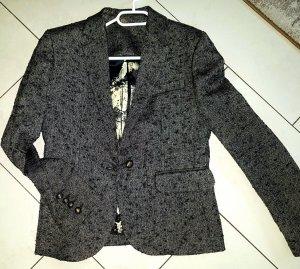 Designer Rich Royal Blazer Sakko Blouson Jacke Neu + Blonde Style d.g.