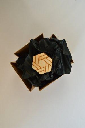Designer Ring aus Holz