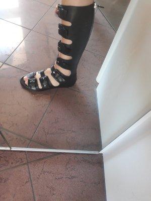 Vic Matie Roman Sandals black