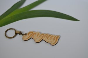 Key Chain oatmeal-beige