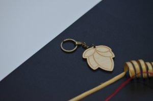 Designer Schlüsselanhänger aus Holz