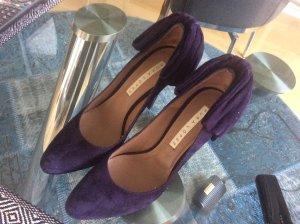 Designer Schuh von pura Lopez in Aubergine, 39