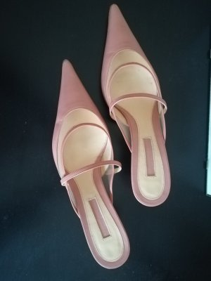 Studio pollini Mules pink leather