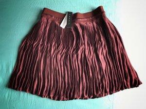 Theory Balloon Skirt multicolored silk