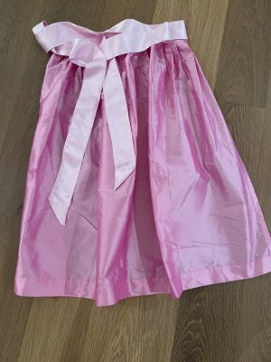 Alpenmädel Traditional Apron pink