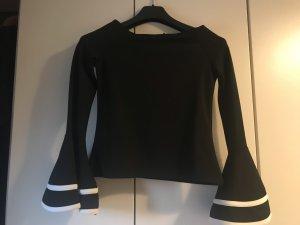 Designer Shirt schwarz Gr.36