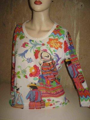 Basset Shirt multicolored cotton