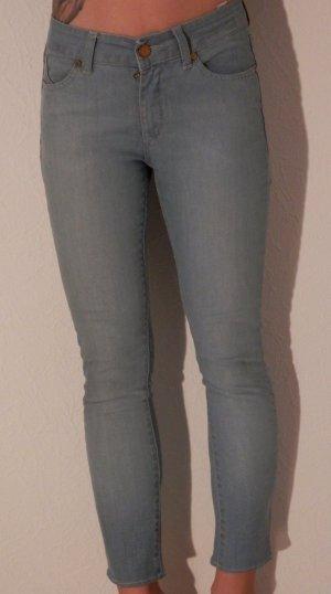 Designer Skinny Jeans Röhre SUPERFINE Kate Moss 3/4 Denim Pants Hauten SEXY