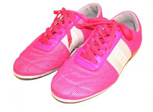 Bikkembergs Sneakers pink-silver-colored synthetic material