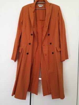 Designer Sommer Mantel in apricot/Orange
