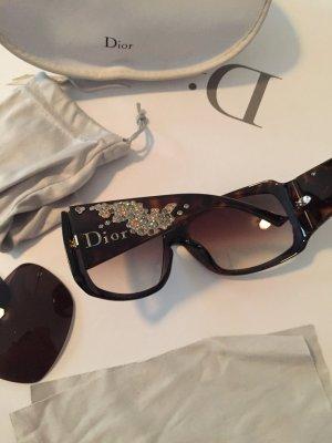 Designer Sonnenbrille Damen Dior braun plus Ersatzgläser
